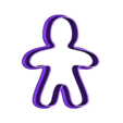 Christmass_cookie_man.stl Download free STL file Christmas cookie cutters • 3D printable object, c47