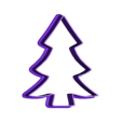 Christmass_cookie_tree.stl Download free STL file Christmas cookie cutters • 3D printable object, c47