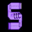 GoPro_BackPack_Mount.stl Télécharger fichier STL gratuit Support DJI Osmo Action (GoPro) pour sac à dos • Objet imprimable en 3D, robolab19