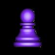 Pawn.stl Télécharger fichier OBJ gratuit Échecs • Modèle imprimable en 3D, STLProject