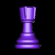 Rook.stl Télécharger fichier OBJ gratuit Échecs • Modèle imprimable en 3D, STLProject