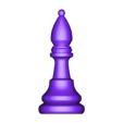 Bishop.obj Télécharger fichier OBJ gratuit Échecs • Modèle imprimable en 3D, STLProject