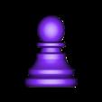 Pawn.obj Télécharger fichier OBJ gratuit Échecs • Modèle imprimable en 3D, STLProject