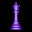Queen.obj Télécharger fichier OBJ gratuit Échecs • Modèle imprimable en 3D, STLProject