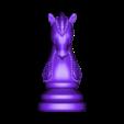 Knight.stl Télécharger fichier OBJ gratuit Échecs • Modèle imprimable en 3D, STLProject
