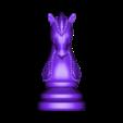 Knight.obj Télécharger fichier OBJ gratuit Échecs • Modèle imprimable en 3D, STLProject