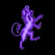 Lion pendant.stl Télécharger fichier STL gratuit Pendentif Lion 2 • Modèle pour imprimante 3D, Majs84