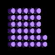 pegs_plus.stl Télécharger fichier SCAD gratuit Peg solitaire : plus et triangle • Design pour imprimante 3D, arpruss
