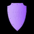 tiger shield.stl Download free 3MF file Medieval Two Tiger Emblem Shield Free 3D model • 3D printer model, GuillermoMX