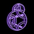 arturito naranja.stl Download free STL file Arturito Orange - BB-8 - Cookie cutter • 3D printing model, Taladrodesing