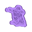 take a knee_Cutter.stl Download free STL file this is how you take a knee cookie cutter  • 3D print design, liggett1