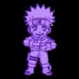 naruto_key.stl Download free STL file Llavero Naruto • 3D print template, 3dlito