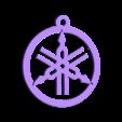 Yamaha_top.stl Télécharger fichier STL gratuit Porte-clés Yamaha • Design imprimable en 3D, snagman