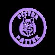 Pitterpatter_top_2.stl Télécharger fichier STL gratuit Dessous de verre Letterkenny Pitter Patter • Modèle pour impression 3D, snagman