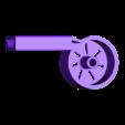 Whistle_BodyNoUpperHole.stl Download free STL file Whistles with a Turbine, STEM Play • Model to 3D print, LGBU