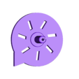 Whistle_CoverSnapOn.stl Download free STL file Whistles with a Turbine, STEM Play • Model to 3D print, LGBU