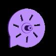 Whistle_CoverSnapOn.stl Télécharger fichier STL gratuit Sifflets avec turbine, jeu STEM • Modèle pour imprimante 3D, LGBU