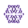 snowFlake.stl Download free STL file Snowflake • 3D printable object, andih256