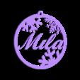 Mila.stl Télécharger fichier STL gratuit décoration de Noël • Objet à imprimer en 3D, Centro3D