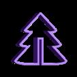 emporte piece sapin bas.stl Télécharger fichier STL gratuit emporte piece sapin 3D  cookie cutter fir 3D • Objet pour imprimante 3D, fantibus14