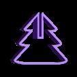 emporte piece sapin haut.stl Télécharger fichier STL gratuit emporte piece sapin 3D  cookie cutter fir 3D • Objet pour imprimante 3D, fantibus14