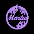 Martin.stl Download free STL file Leteros personalizados Migue, Amalia, Martin y Olgui • 3D printable design, Centro3D