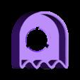 PacManBank_Body.stl Télécharger fichier STL gratuit Pac Man Piggy Bank - plus grande porte / trou / ouverture • Modèle pour imprimante 3D, plokr