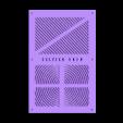 Tapa_Caja_placa_Zonestar_ZRIB_para_Anet_A8.stl Télécharger fichier STL gratuit Caja placa Zonestar ZRIB para Anet A8 / AM8 (Extrusor Dual multicolor) • Design pour impression 3D, celtarra12