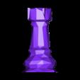 Rook.obj Download free OBJ file Chess Set LowPoly  • Model to 3D print, MarProZ_3D