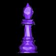 Bishop.obj Download free OBJ file Chess Set LowPoly  • Model to 3D print, MarProZ_3D