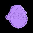 cookie.stl Télécharger fichier STL gratuit Coupe-biscuits du Père Noël • Modèle pour imprimante 3D, indigo4