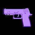 politiegun.stl Télécharger fichier STL gratuit arme de police • Plan imprimable en 3D, wynsyoran
