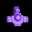 Leviathan_dreadnought_bassin_v2.STL Download free STL file Gros robot des anciens marin de l'espace • Template to 3D print, ologhzul