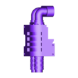 Leviathan_dreadnought_chemin%C3%A9e_G_v1.STL Download free STL file Gros robot des anciens marin de l'espace • Template to 3D print, ologhzul