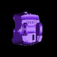 Leviathan_dreadnought_jambes_bas_G_v3.STL Download free STL file Gros robot des anciens marin de l'espace • Template to 3D print, ologhzul