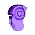 Leviathan_dreadnought_jambes_haut_G_v2.STL Download free STL file Gros robot des anciens marin de l'espace • Template to 3D print, ologhzul