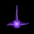 trophy_v3_whole.stl Download free STL file Klingon Bat'leth trophy • 3D printer template, poblocki1982