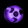 CubeVertex_hole_pt3mmT_Loose.stl Download free STL file Cube Model, Pedagogically Stretched • 3D printing design, LGBU