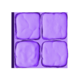 OpenForge_2x2_floor_only.obj Download free OBJ file Dungeons Tile Set • 3D printing object, 3DRune