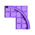 OpenForge_with_Pillars_and_Arch_4x4_round.obj Download free OBJ file Dungeons Tile Set • 3D printing object, 3DRune