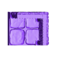 OpenForge_with_Pillars_and_Arch_corner2x2_doorway.obj Download free OBJ file Dungeons Tile Set • 3D printing object, 3DRune