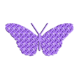 Chain_Mail_Butterfly.stl Download free STL file Articulated Chain Mail Butterfly (Remix) • 3D print object, tylerebowers