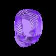 2._WireFrame_Skull_Pen_Holder_With_Flat_Base.stl Download STL file Skull Card, Coin Holder • 3D print model, gharadze