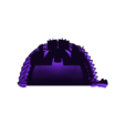 Morkai_Rep_MKVII_2_Pad.stl Download free STL file Double Wolf head Chapter insignia • 3D printing model, Tatsura