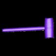 Wooden_Hammer.stl Download free STL file Wooden Hammer (Mallet) 3D Scan • 3D printer design, 3DWP