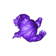 RhinoStatueWithoutBase.stl Download free STL file Rhino Statue (Spider-Man) • 3D printer template, 3DWP