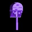 bowl_burner_face_turret.stl Download free STL file Ork / Orc armoured Light attack vehicle / War Buggy • 3D printing object, redstarkits