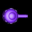 top_turret.stl Télécharger fichier STL gratuit Demi-châssis de forteresse de combat mobile orque / orque • Design à imprimer en 3D, redstarkits