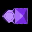 GG_rear_top.stl Télécharger fichier STL gratuit Demi-châssis de forteresse de combat mobile orque / orque • Design à imprimer en 3D, redstarkits