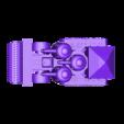 guns_forwards.stl Télécharger fichier STL gratuit Demi-châssis de forteresse de combat mobile orque / orque • Design à imprimer en 3D, redstarkits